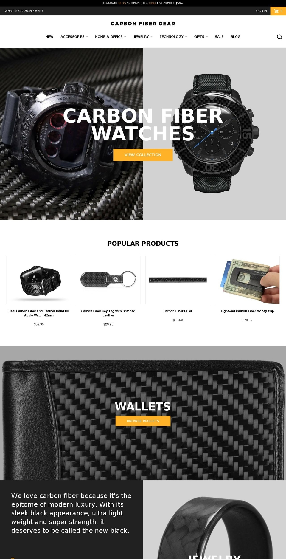 Carbon Fiber Gear 1 6 1 (Fuel Made) Shopify theme websites examples