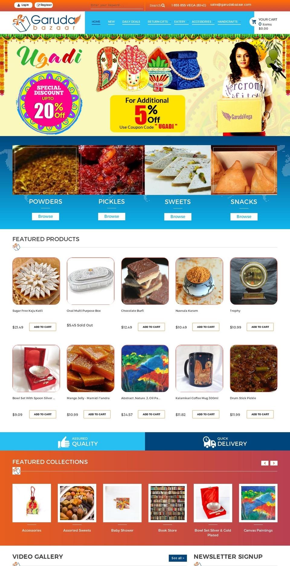 Garuda-bazar-myshopify-com-launchpad-star Shopify theme websites