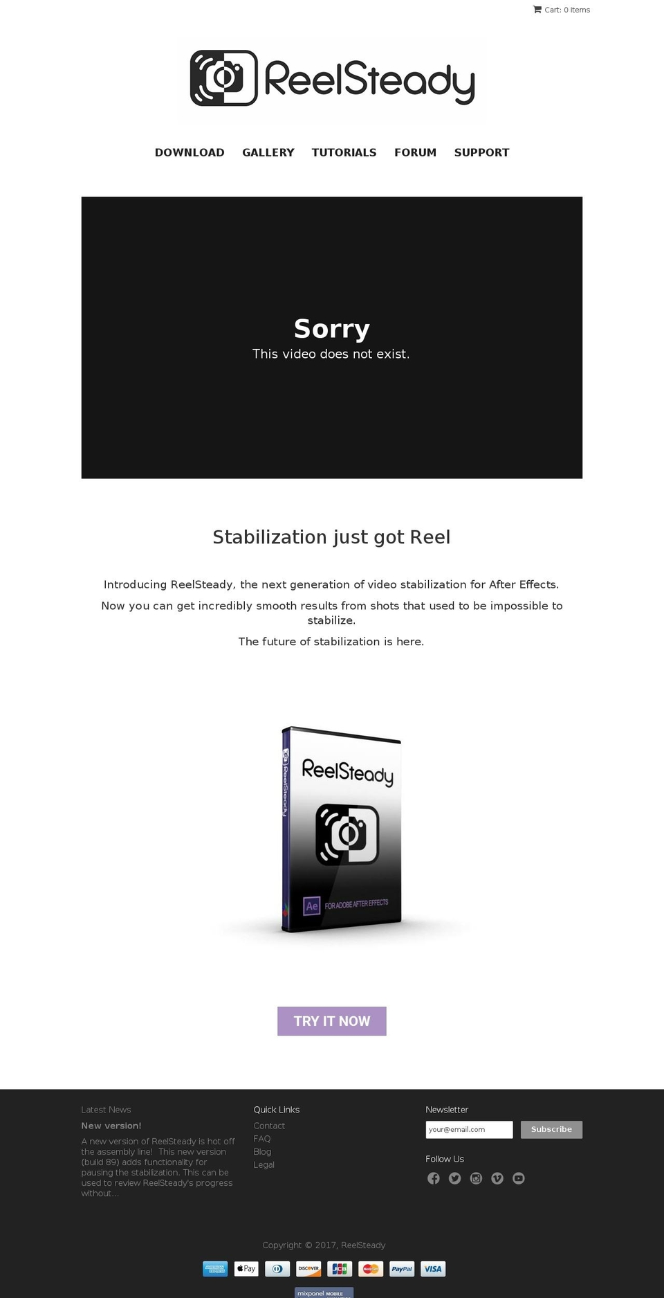 Reelsteady Review