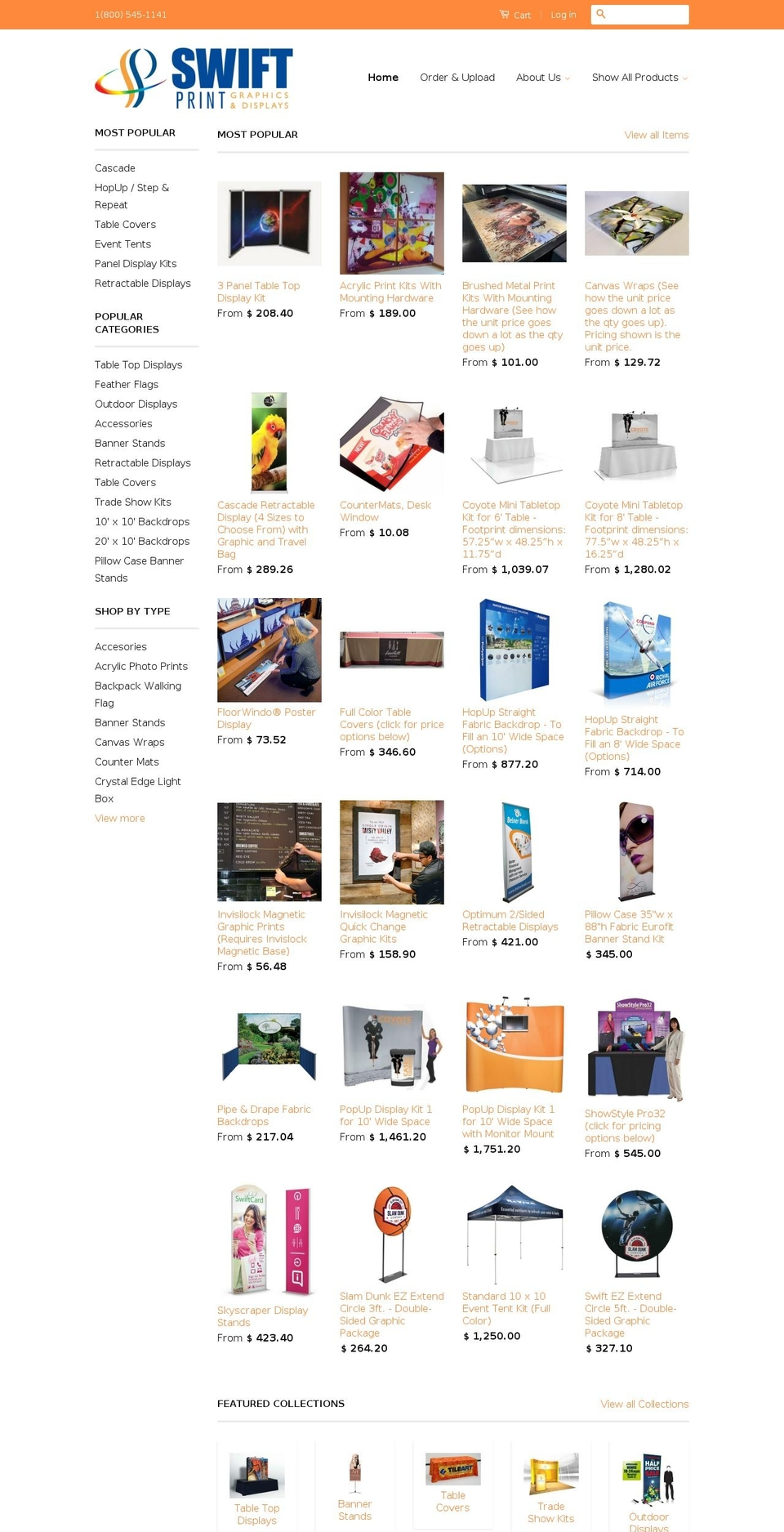 Live Orange Redone Site Shopify theme websites examples