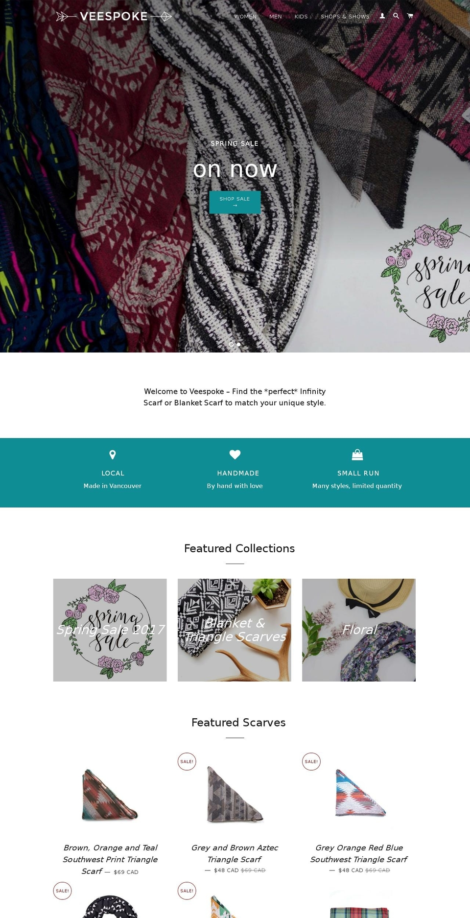 Veespoke Slick Shopify theme websites examples, download
